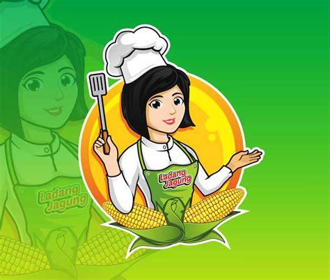 design brief adalah design brief maskot wanita modern sebagai koki sribu