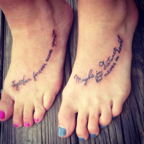 together forever tattoos and together forever never apart