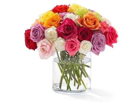 floreros bonitos bonito florero 36 rosas de colores fl 32 envia flores y