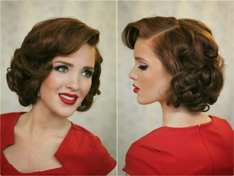 Pin Curls On A Bob | pin curl bob hairstyles latest globezhair