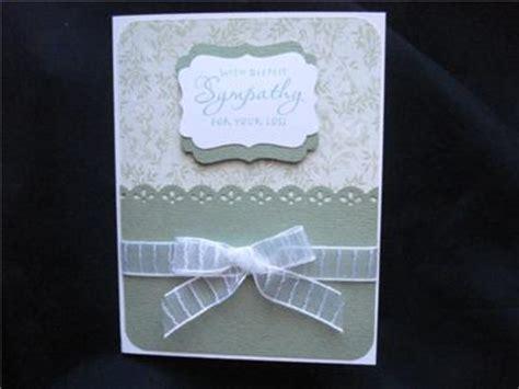 Martha Stewart Handmade Cards - handmade sympathy card stin up stendous martha