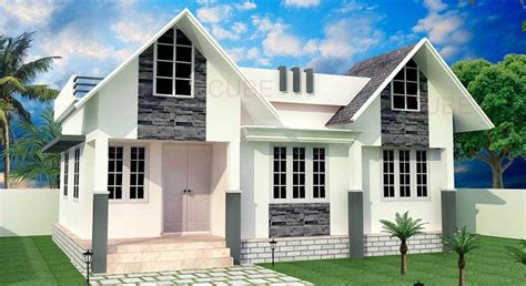 sq ft contemporary single floor home design