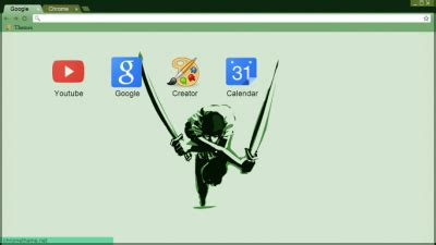 theme chrome zoro one piece chrome themes themebeta