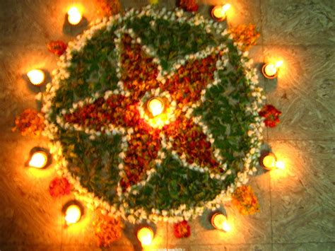 design flower rangoli diwali enjoy diwali flower rangoli design