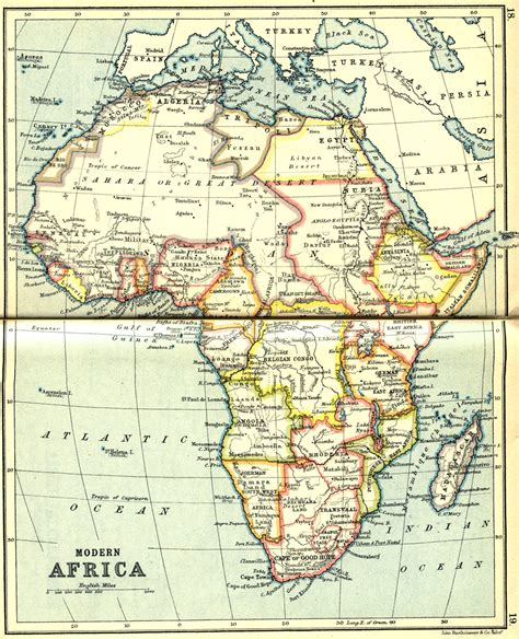 africa map history history about africa map