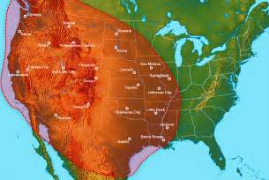 volcanoes in the united states map ancient eruptions in yellowstone hotspot track