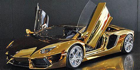 Das Teuerste Auto Der Welt 2013 Kostet by Aventador Aus Gold Das Teuerste Automodell Der Welt