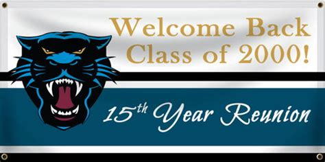 reunion banners design templates class reunion banners personalized reunion banners