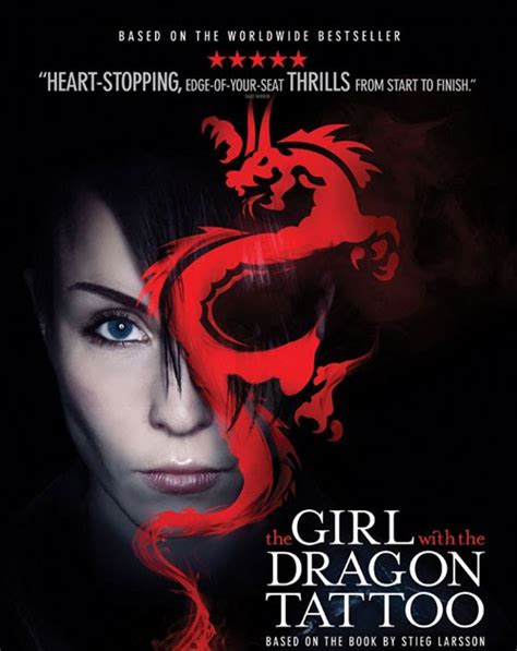 girl with a dragon tattoo movie with the poster