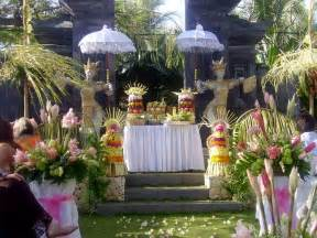 traditional wedding decorations designs in bali