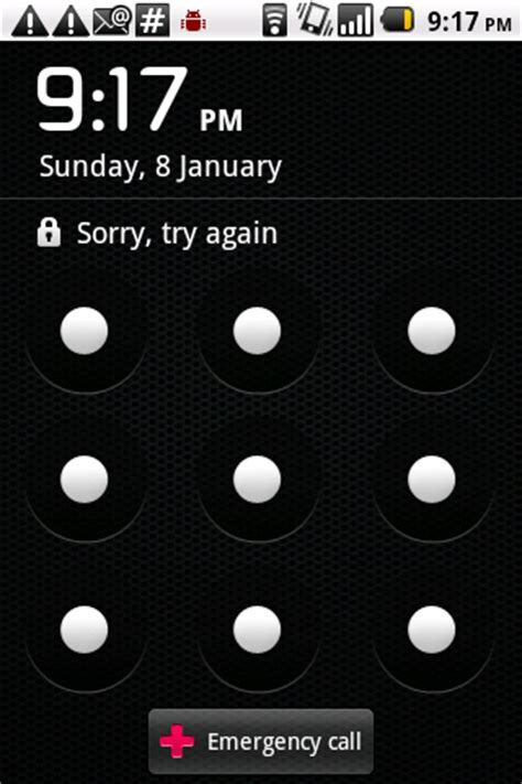 android pattern emergency call how to remove emergency call button in android lock screen