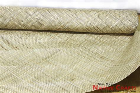 Lauhala Mat by Pandan Banig Lauhala Mat Roll Wholesale
