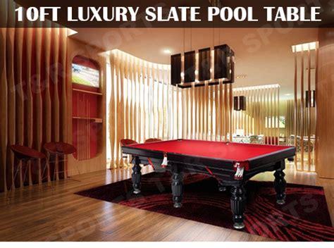 10 ft pool table 10ft luxury coffee slate pool snooker billiard table
