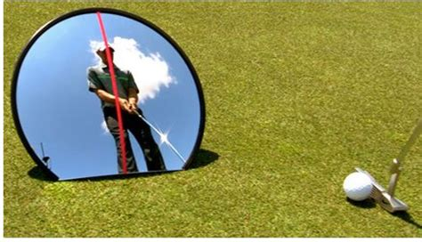 golf swing mirror 360 176 mirror for full swing and putting putting