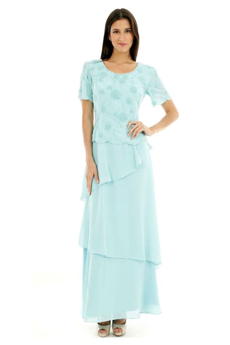 Dress Of The Day Tiered Dress simple of groom plus size sleeve dress