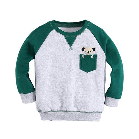 Atasan Sweater Anak jual n bab sweater pocket koala atasan anak perempuan