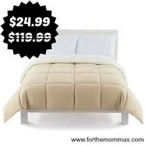 the big one comforter the big one 174 down alternative reversible comforter only