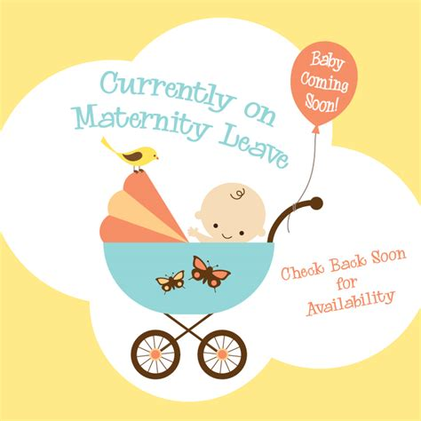 Maternity Leave Card Template by Going Back To Work After A Baby Diaries Of A