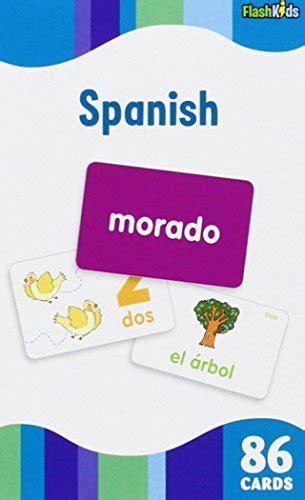 libro spanish flash kids flash spanish flash kids flash cards epic kids toys