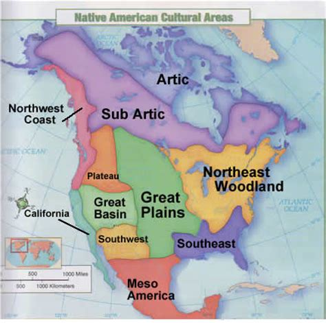 american culture areas map mrsmertens licensed for non commercial use only