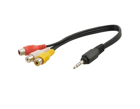 3 5mm To Rca Audio Cable 3 5mm to 3 rca audio cable