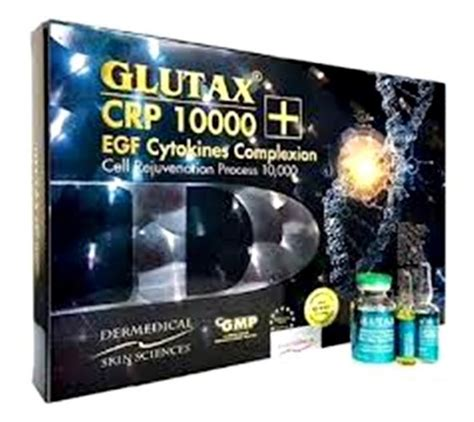 Glutax Crp 10000 glutax crp 10000 egf cytokines complexion buy italy