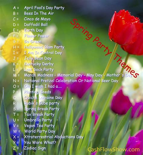 theme dance names spring themes for parties www imgkid com the image kid