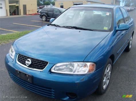blue nissan sentra 2003 vibrant blue metallic nissan sentra gxe 35283026