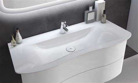 waschbecken geschwungen meubles de salle de bain s 233 rie ella burgbad