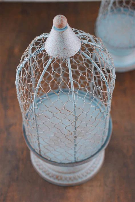 chicken wire topiary forms 2 floral chicken wire topiary stands slate blue set of 2