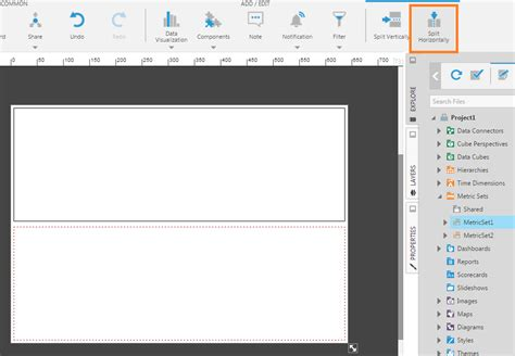 grid layout resize using a template grid for resizing design view