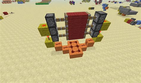 How To Make A Redstone Door by Piston Doors Redstone Discussion And Mechanisms Minecraft Java Edition Minecraft Forum