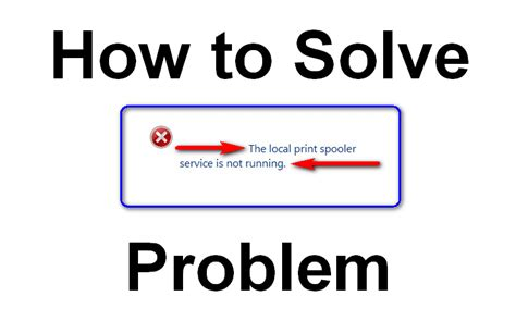 how to a to not run fixed the local print spooler service is not running windows pc error issue