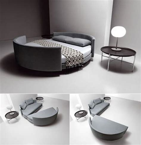 round sleeper bed sofa round sofa bed by saba italia modern multifunctional