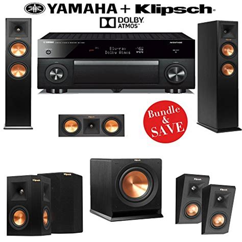 klipsch rp 250f reference premiere 5 1 2 dolby atmos home