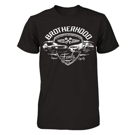 Brotherhood T Shirt tribute to paul walker t shirt brotherhood never dies