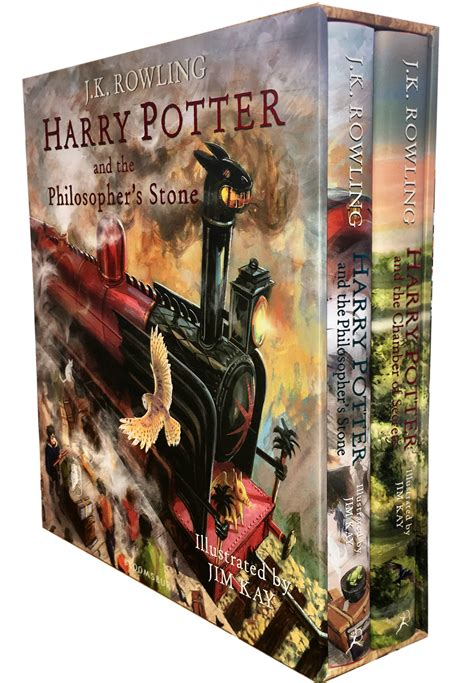 harry potter illustrated box harry potter illustrated box set collection j k rowling