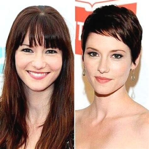 chyler leigh short hairstyles best short pixie haircut for fine 367 best hair before and after images on pinterest short