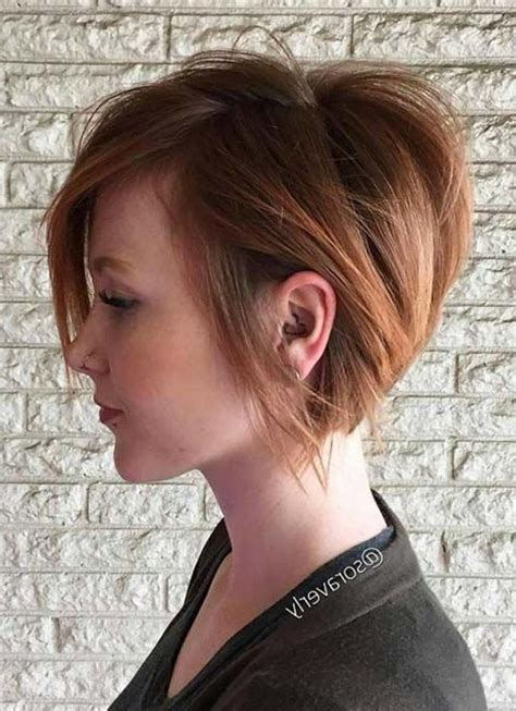 short hairstyle over the ears longer in the back 15 best ideas of short female hair cuts