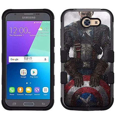 Casing Samsung J2 Prime Captain America Civil War Wide Custom Hardcase captain america phone cases