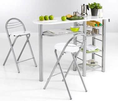 meuble cuisine pour studio desserte et tabouret pour coin cuisine dans studio 3suisses