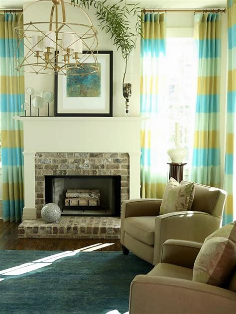 Livingroom Window Treatments | living room window treatments hgtv