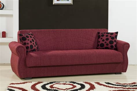 burgundy sofa rain chenille maryposo burgundy sofa bed by kilim