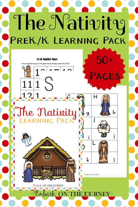 printable christmas party games pack download free printable nativity preschool pack money saving 174