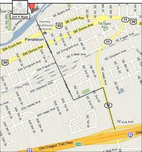 map of pendleton oregon christian church pendleton or contact and directions