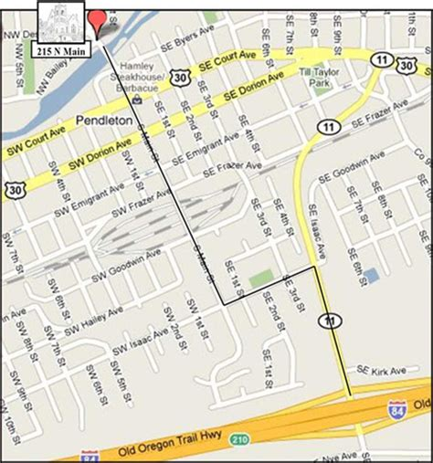 map of oregon pendleton christian church pendleton or contact and directions
