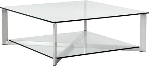 brushed steel coffee table xavier brushed stainless steel square coffee table 101489