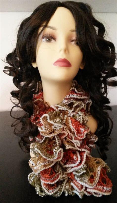 sciarpa volant sciarpa volants autunno donna abbigliamento di jehma