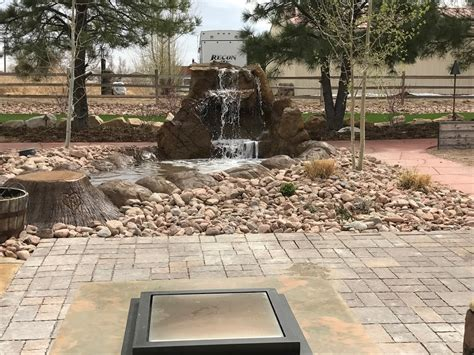 Backyard Rye by Backyard Water Feature Contractor For Canon City Colorado City Rye Pueblo Beulah All