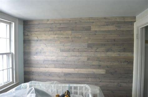 fake  reclaimed wood plank wall wood plank walls